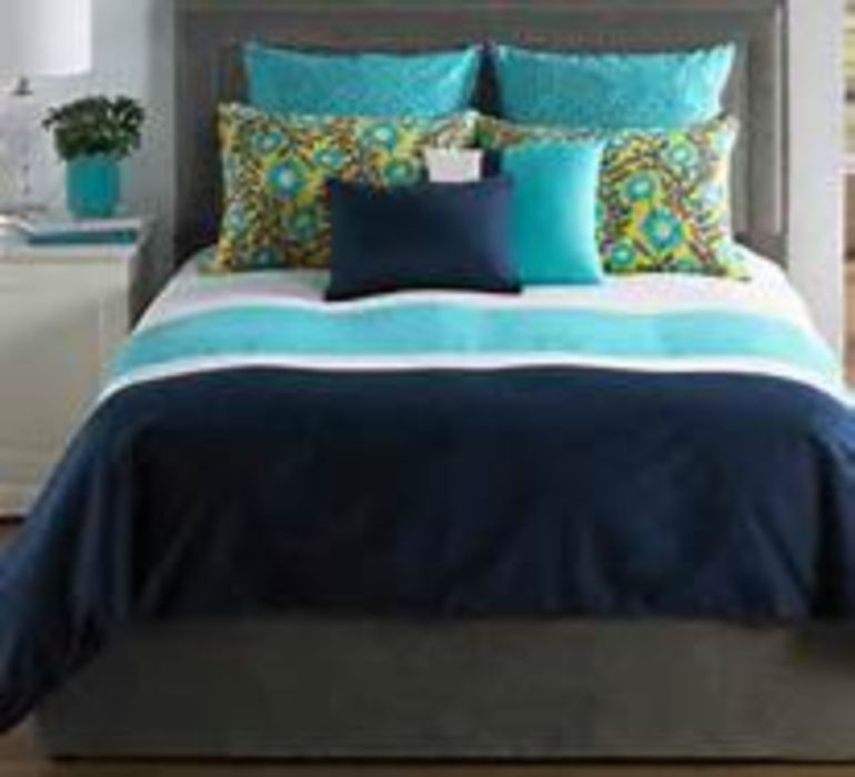 Beautiful Blue Bedrooms: Beautiful Blue And Gray Bedrooms (27)