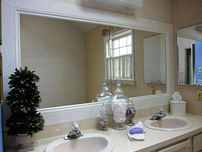 bathroom mirror frame ideas 27 cool ideas to use big mirrors in your bathroom 16216