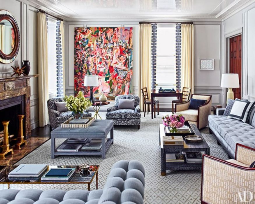 24 Graceful Stylish Living Room Designs Round Decor