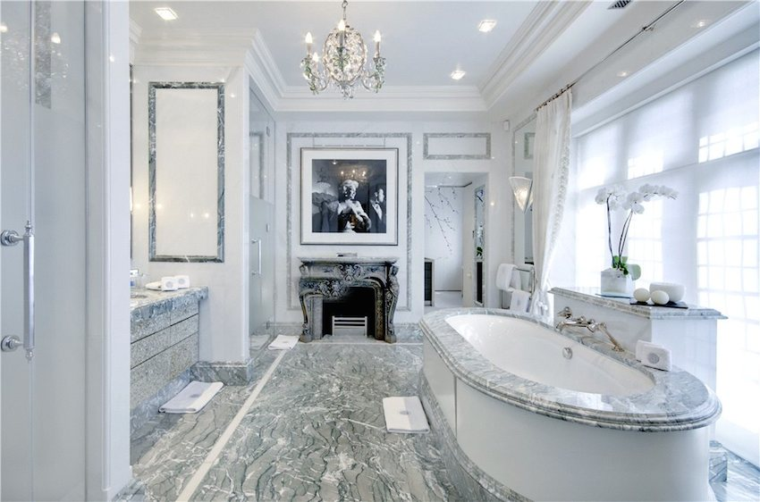 Marble Bathroom Ideas To Create A Luxurious Scheme: 25 Luxurious Marble Bathroom Design Ideas