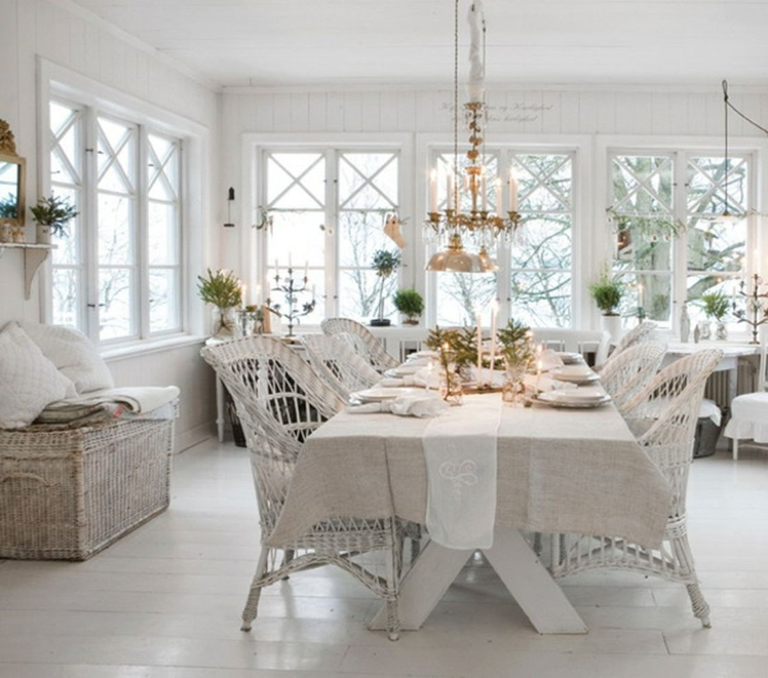 DECORATE WITH ME SHABBY CHIC DINING ROOM DECOR