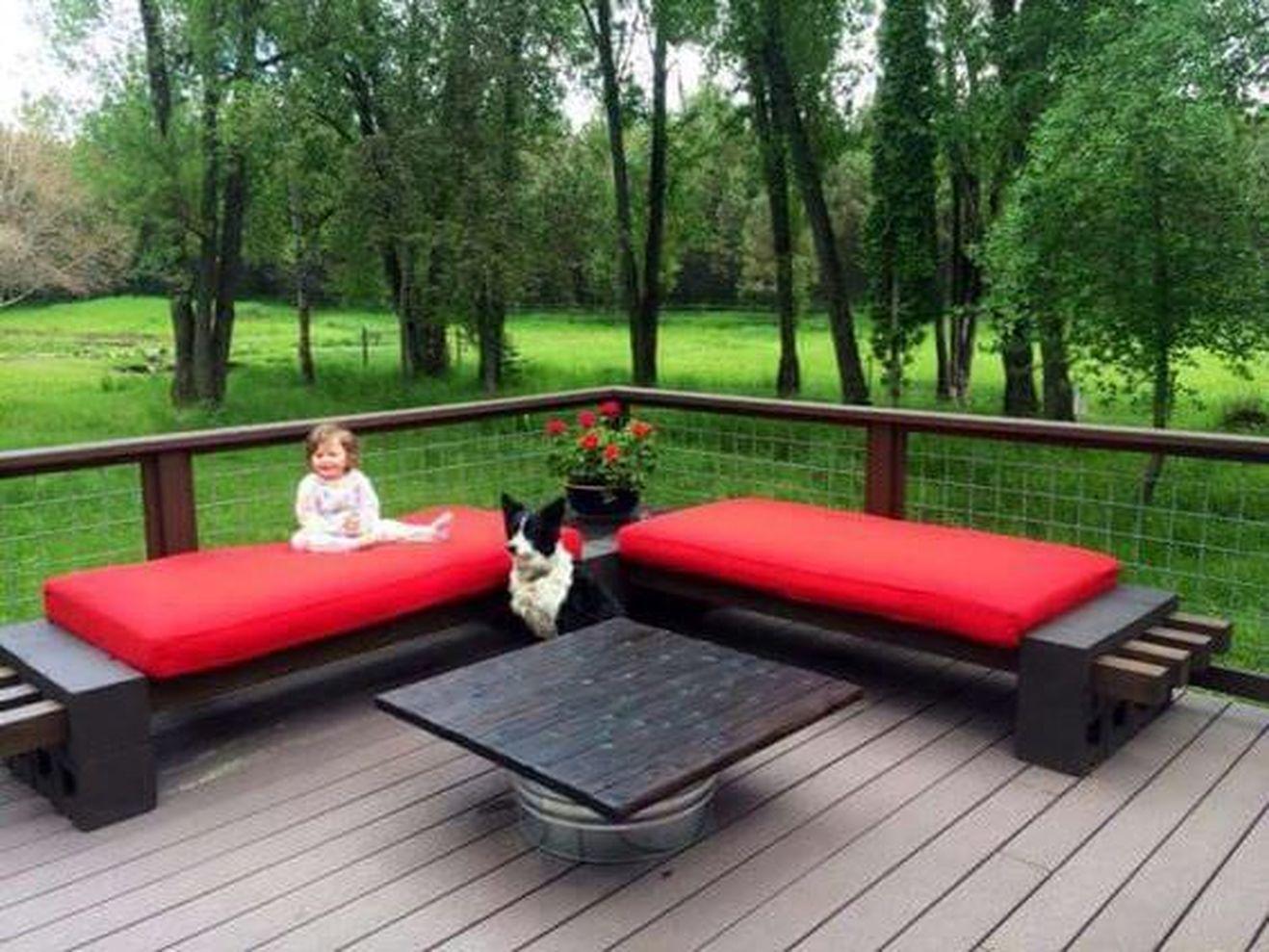 cinderblock furniture. Simple Furniture 1318  989 In 63 Cinder Block Furniture Backyard Inside Cinderblock