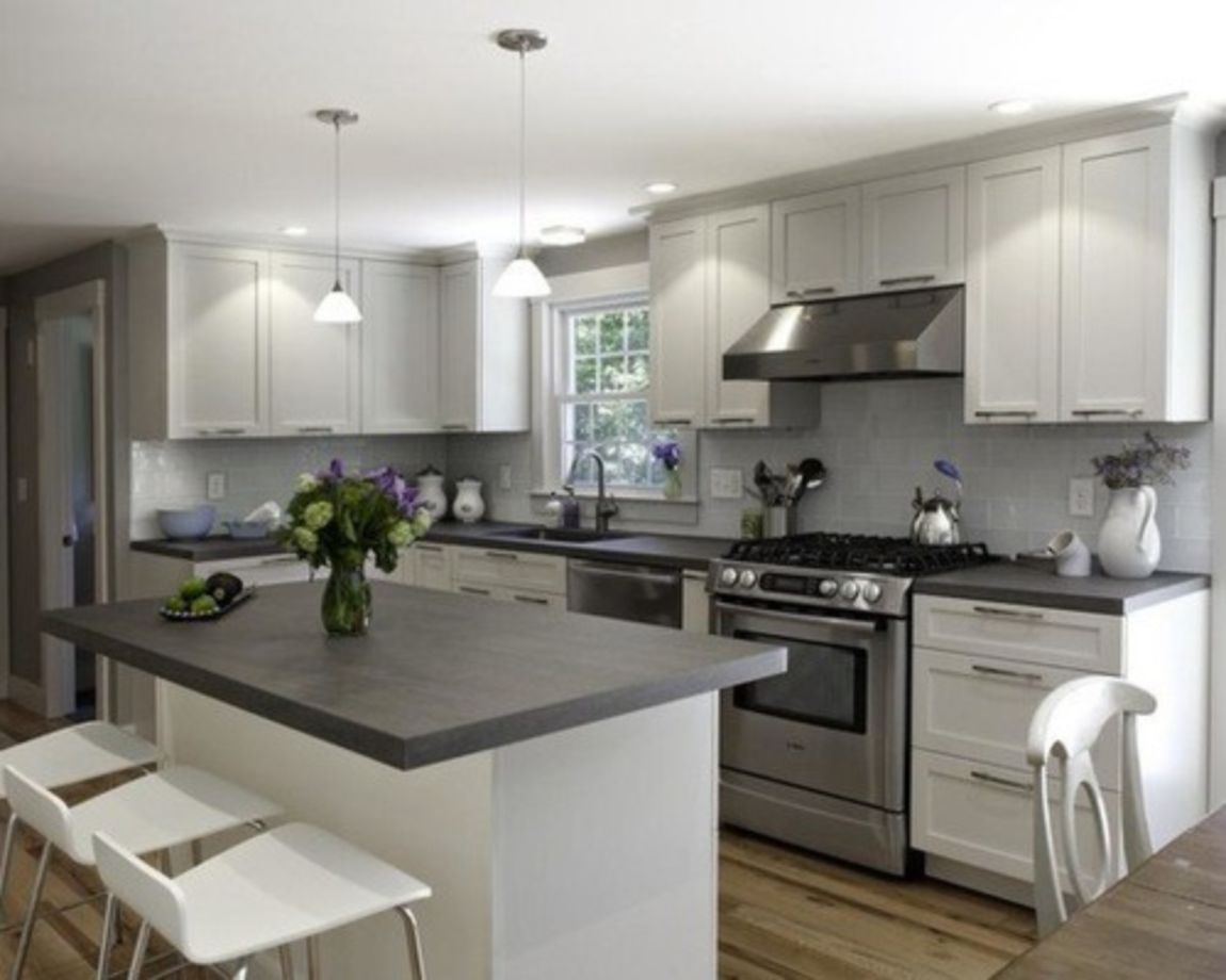 Kitchen Color Ideas With Grey Cabinets