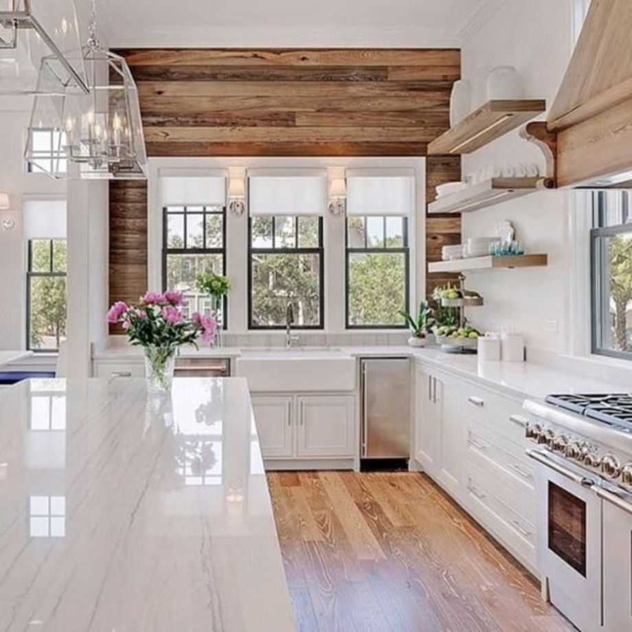 60 cool kitchens design ideas with bay windows round decor for Cool kitchen remodels