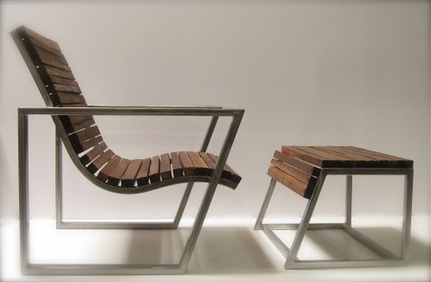 Creative metal and wood furniture 09