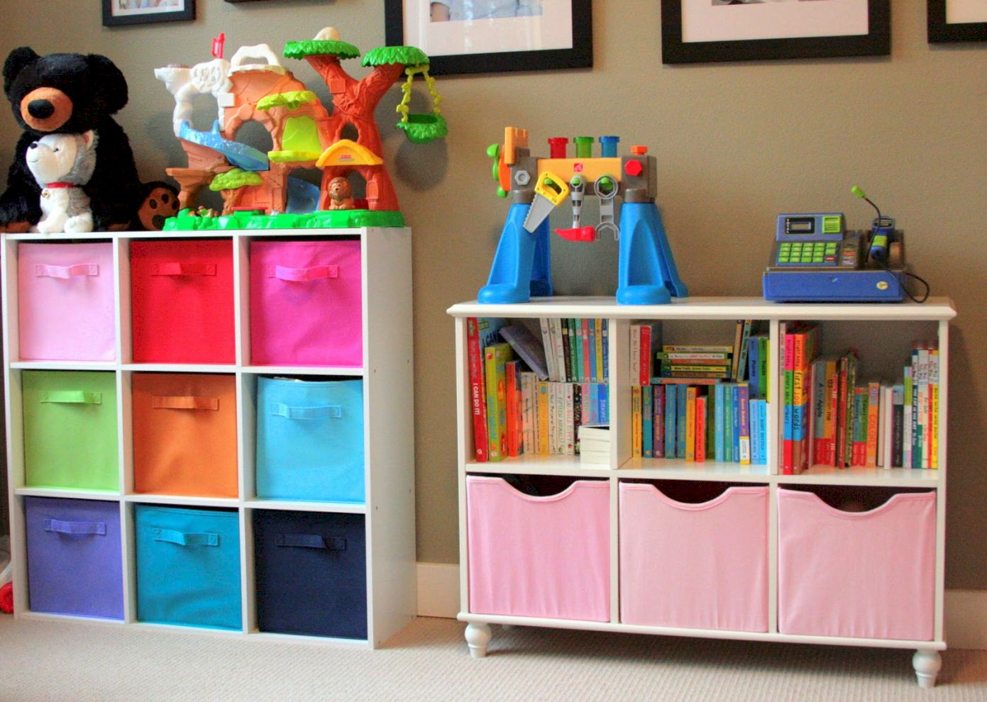 61 Creative Toy Storage Ideas For Living Room Round Decor