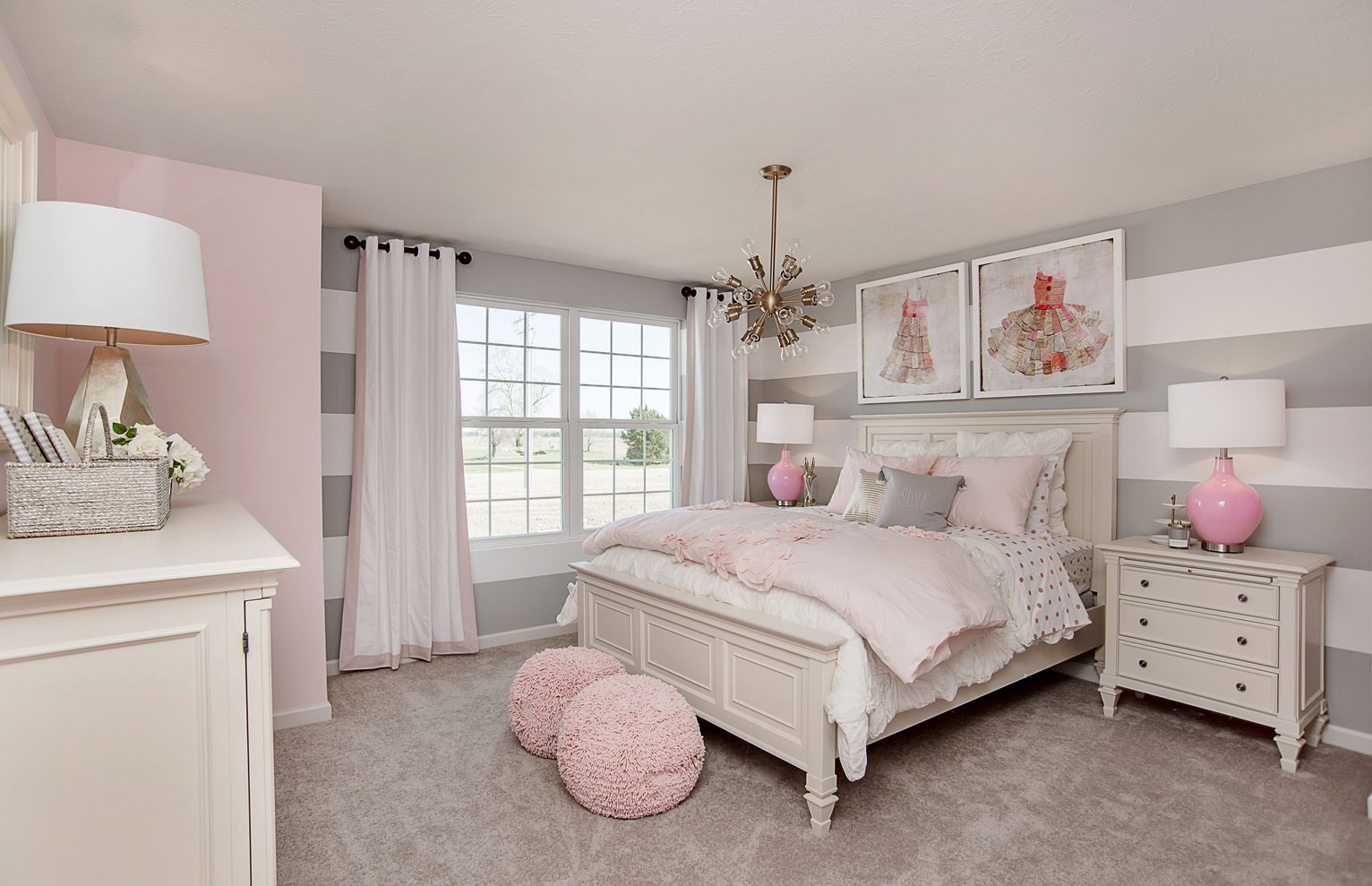 69 cute apartment bedroom ideas you will love round decor Cute kid room ideas