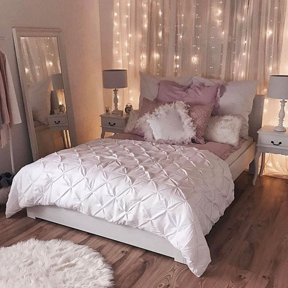 Cute apartment bedroom ideas you will love 69 - ROUNDECOR