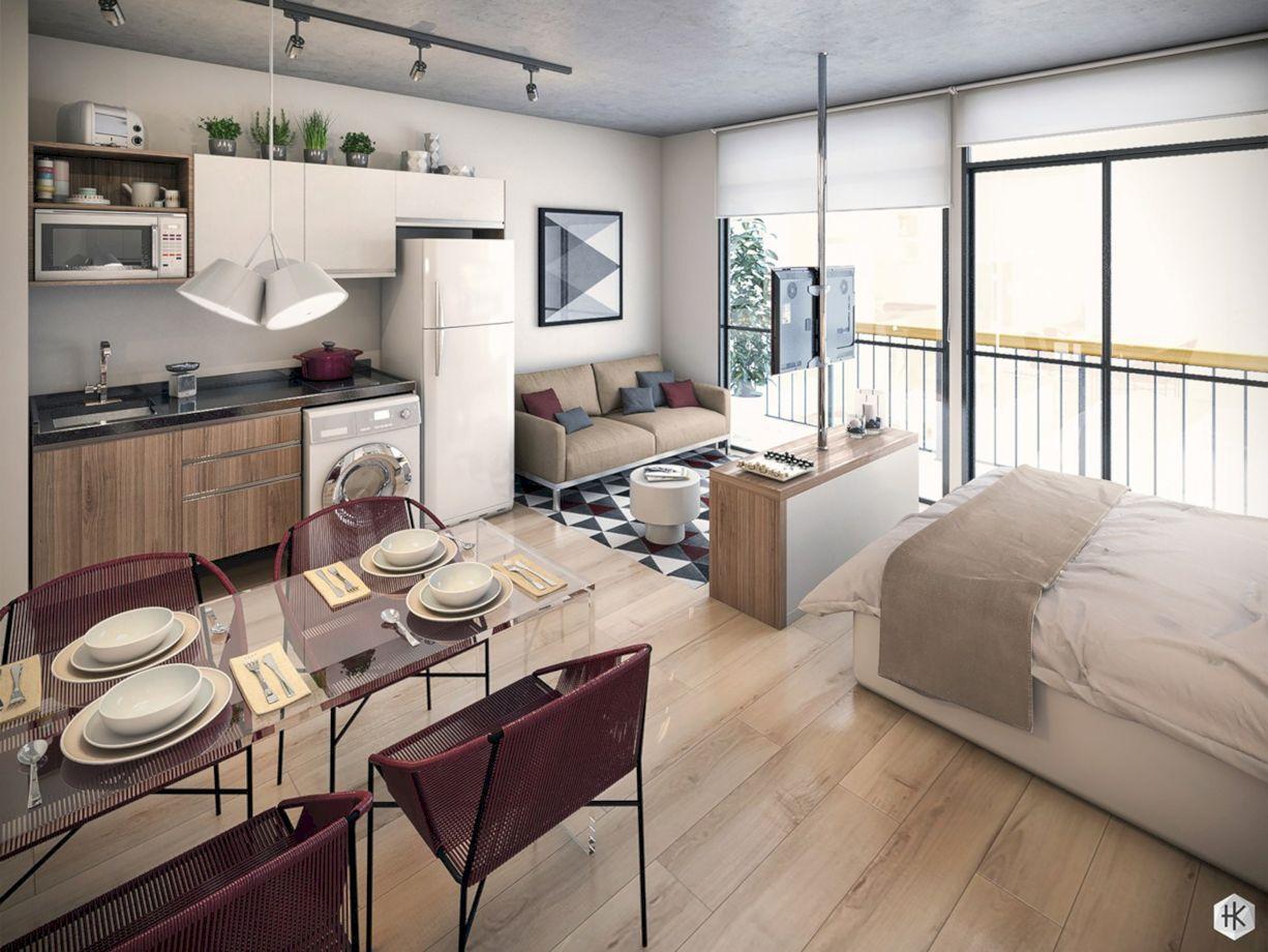Inspiring modern studio apartment design ideas (9)