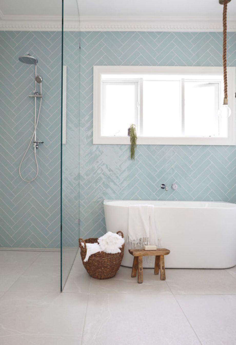 Modern small bathroom tile ideas 082 - Round Decor
