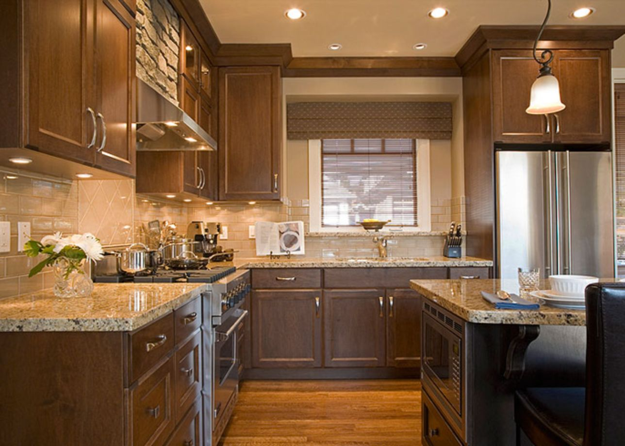 78 Stylish Dark Brown Cabinets Kitchen Suitable For