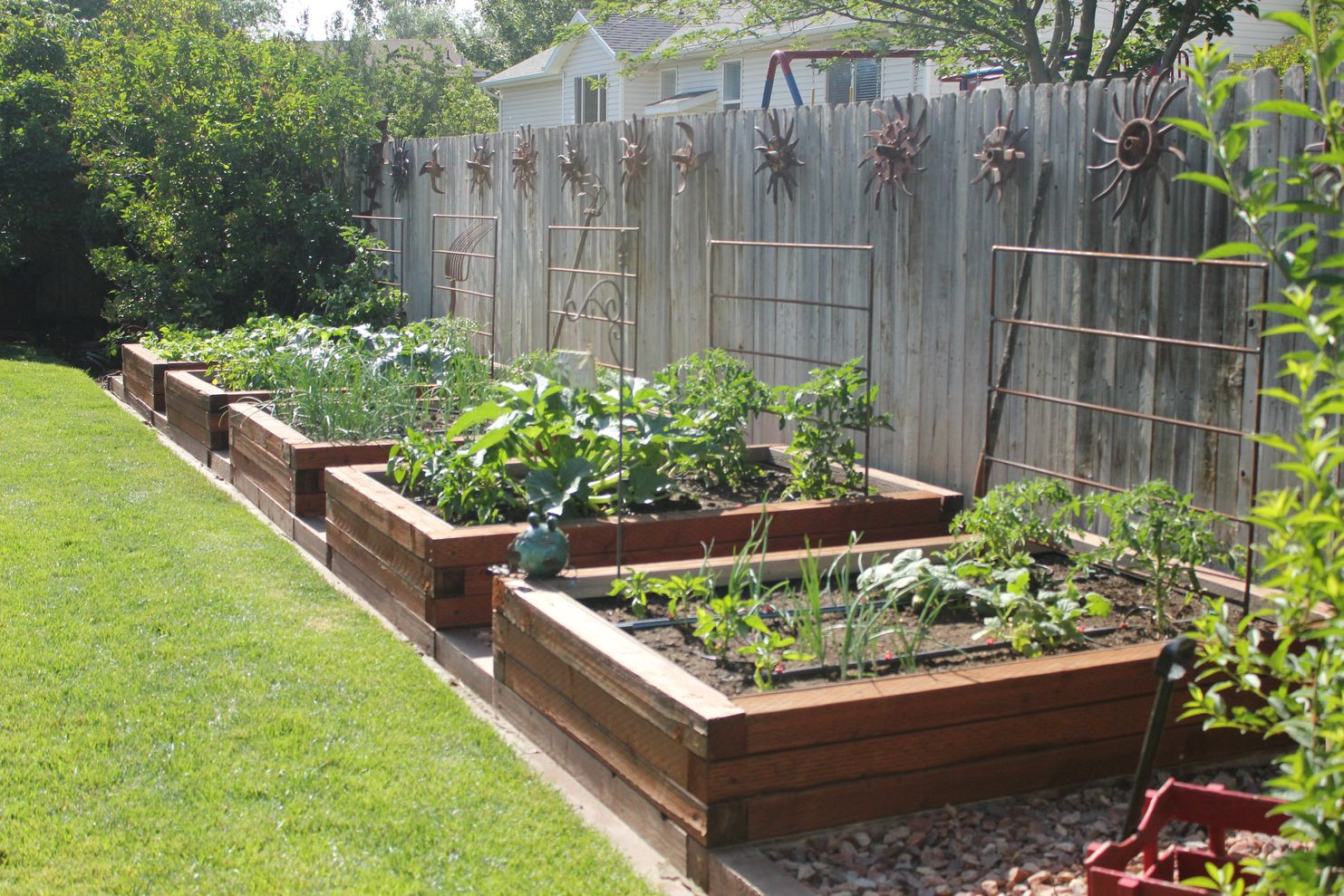 Affordable backyard vegetable garden designs ideas 19 ...