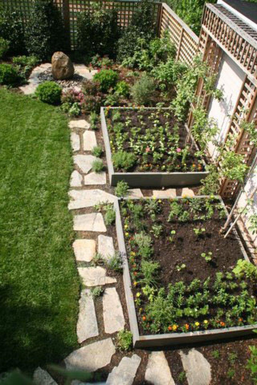 Affordable backyard vegetable garden designs ideas 47 ...