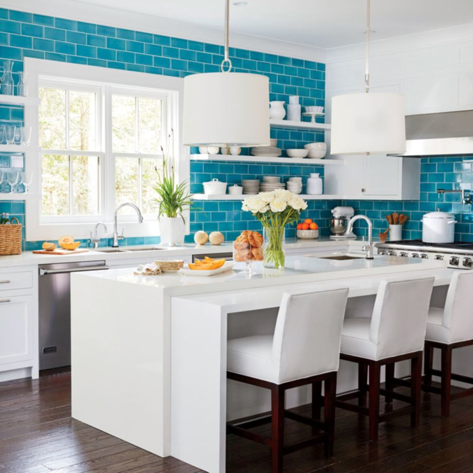 Beautiful hampton style kitchen designs ideas 03 - Round Decor