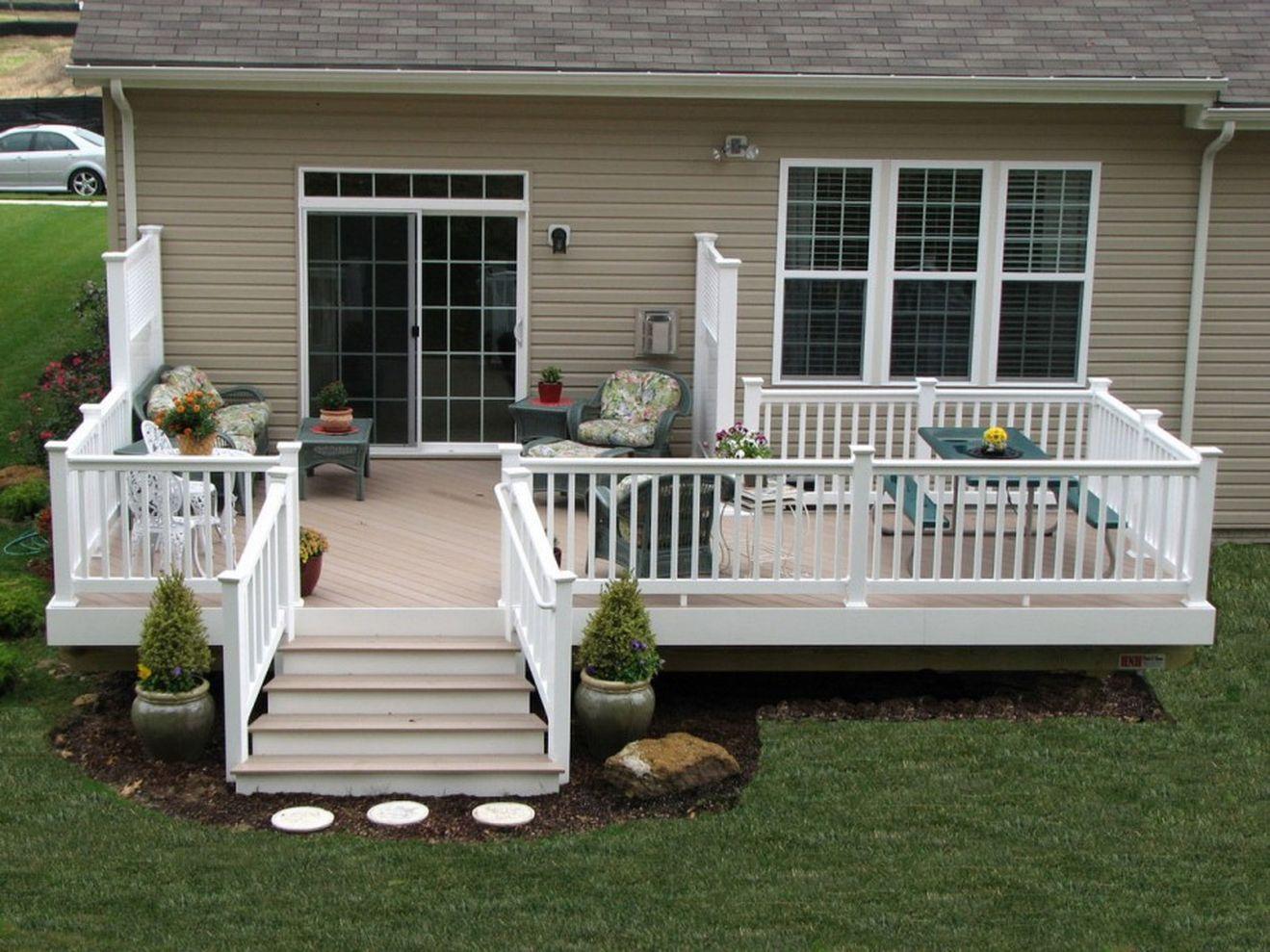 Creative front porch garden design ideas 31