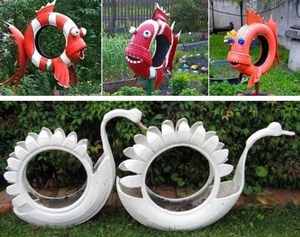 Garden Art Ideas Homsgarden