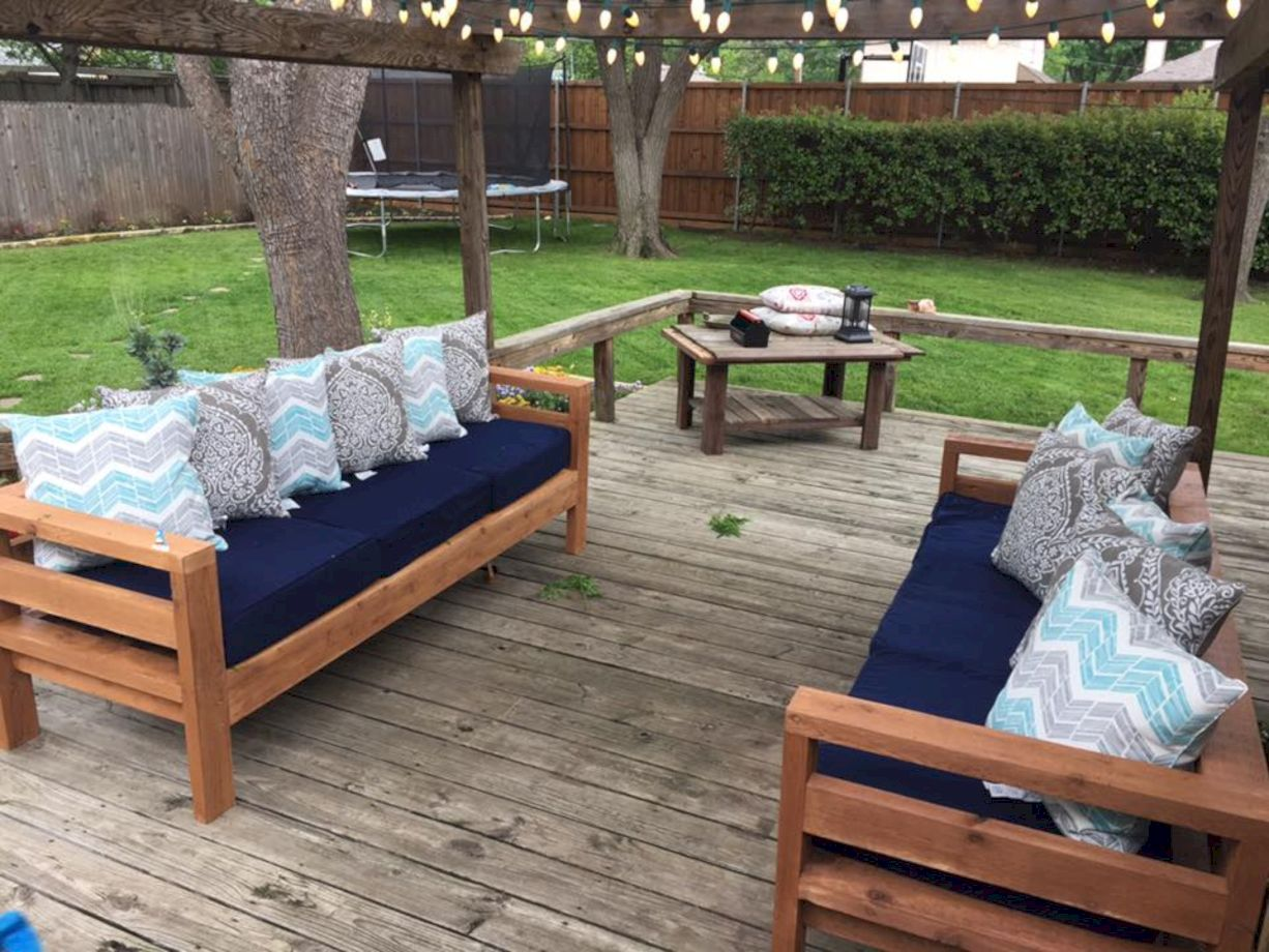 Diy outdoor patio furniture 54 - 54 Amazing Diy Outdoor Patio Furniture Ideas - Round Decor