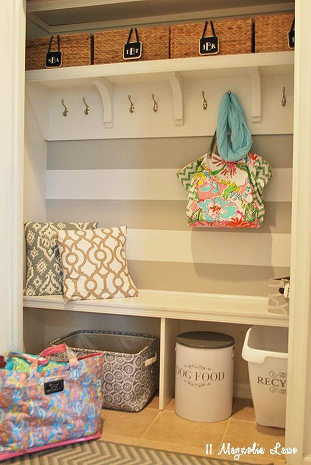 Easy and affordable diy wood closet shelves ideas 05 - Round Decor