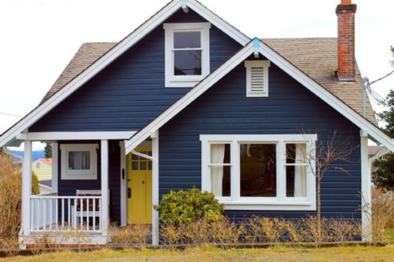 40 Exterior Paint Schemes For Bungalows Roundecor
