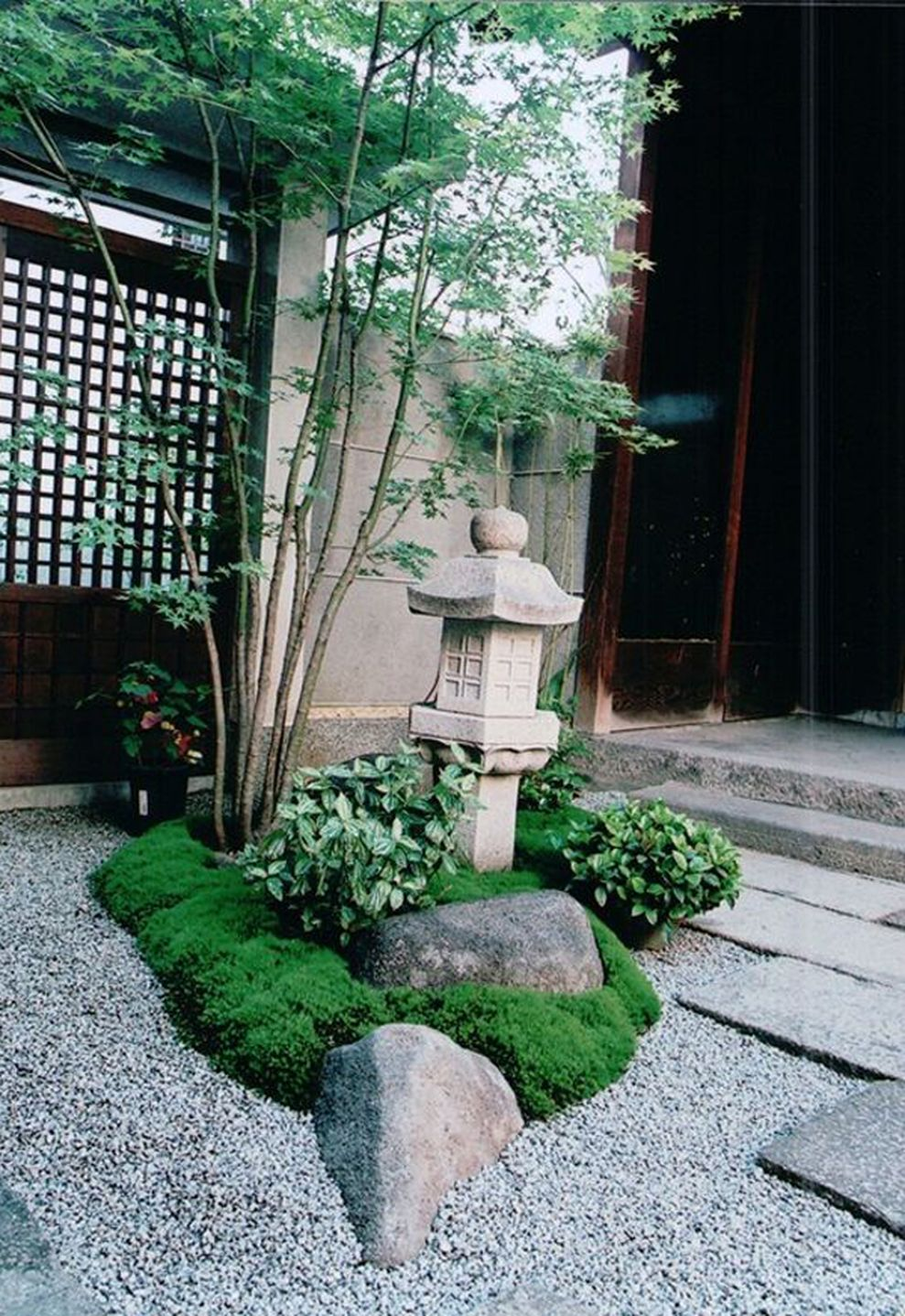 Inspiring small japanese garden design ideas 36 - ROUNDECOR on Small Backyard Japanese Garden Ideas id=99930