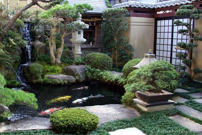 Inspiring small japanese garden design ideas 55 - Round Decor