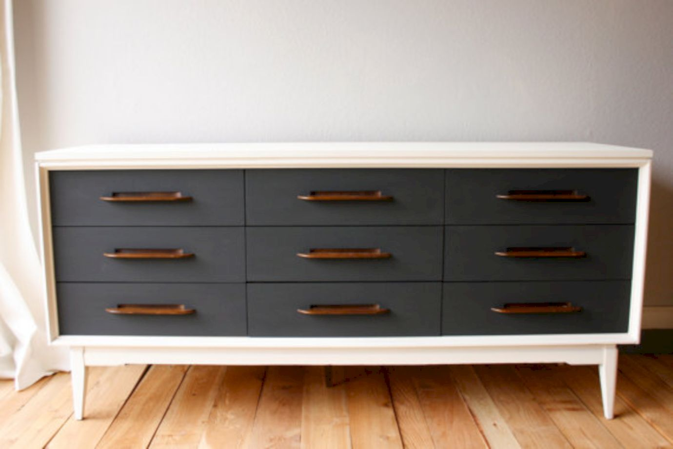 Painted Mid Century Modern Furniture 21