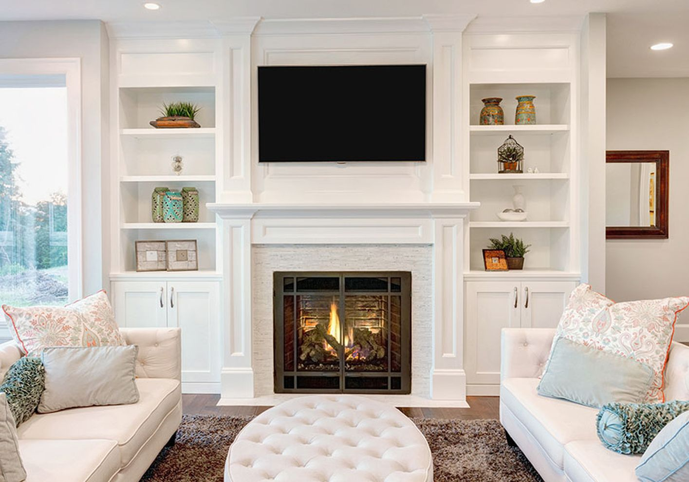 simple living room design ideas with tv 10  roundecor