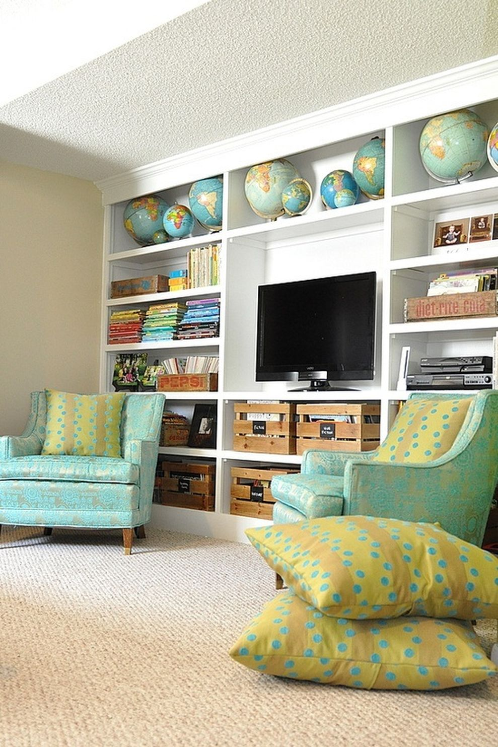 Simple Living Room Decorating Ideas Pinterest: Simple Living Room Design Ideas With Tv 15