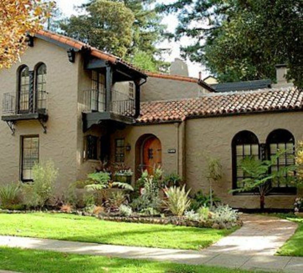 Spanish Style Homes Spanish Spanish Home Design Ideas: Exterior Paint Color Natural Home Design