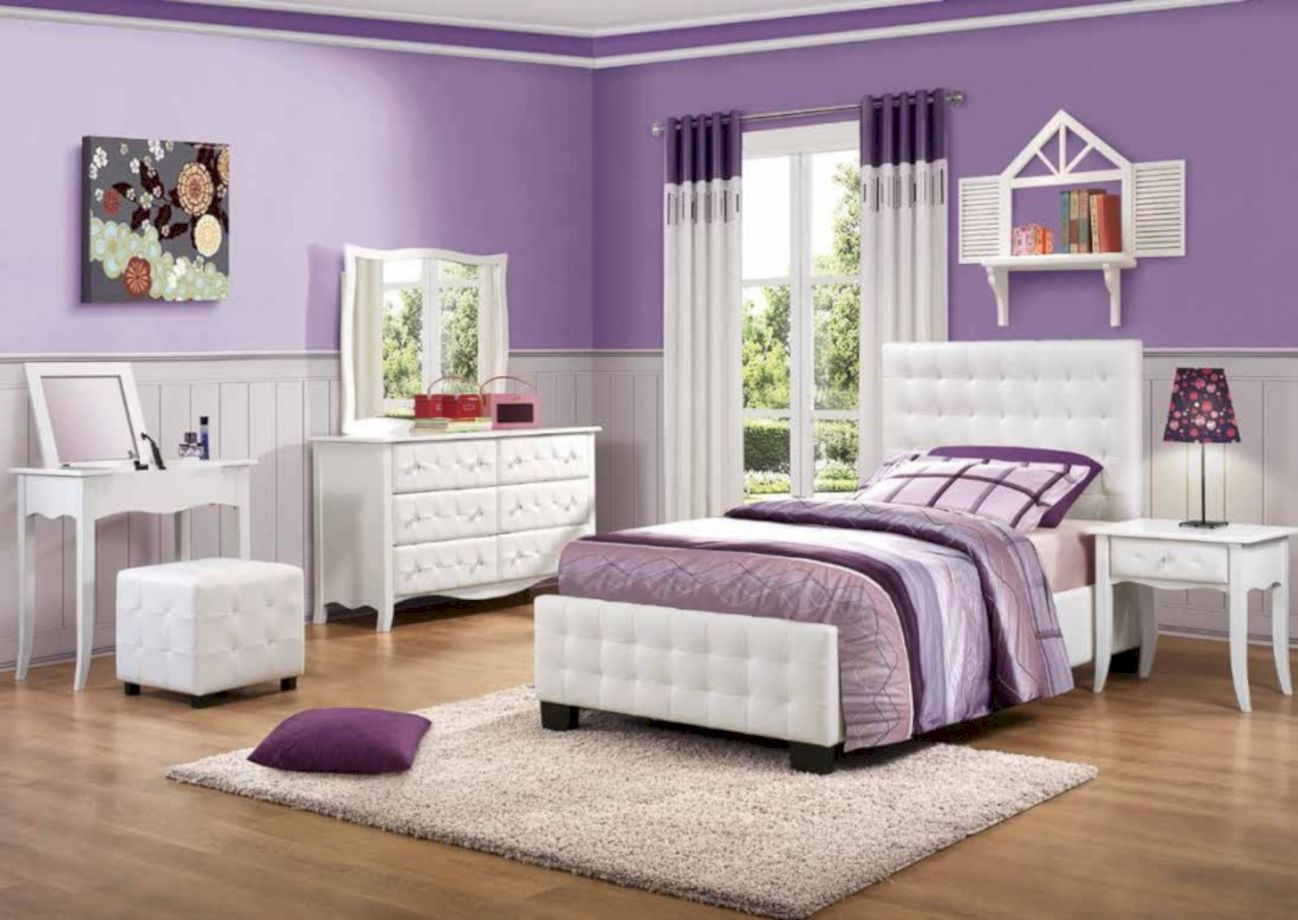 55 stunning teenage girl bedroom furniture ideas roundecor - Teenage girl bedroom furniture ideas ...