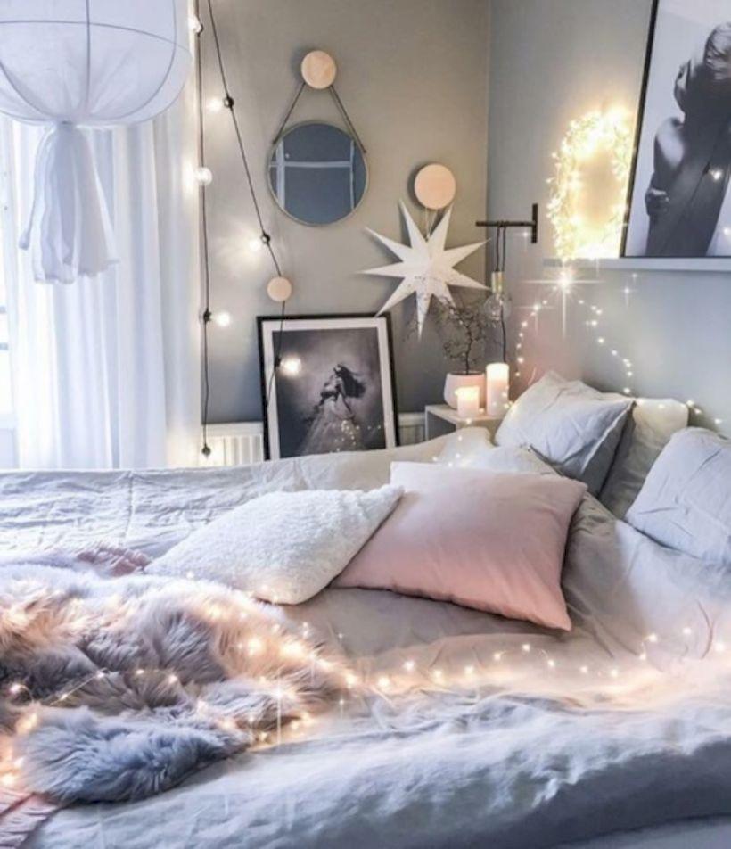 cozy bohemian teenage girls bedroom ideas (55) - roundecor