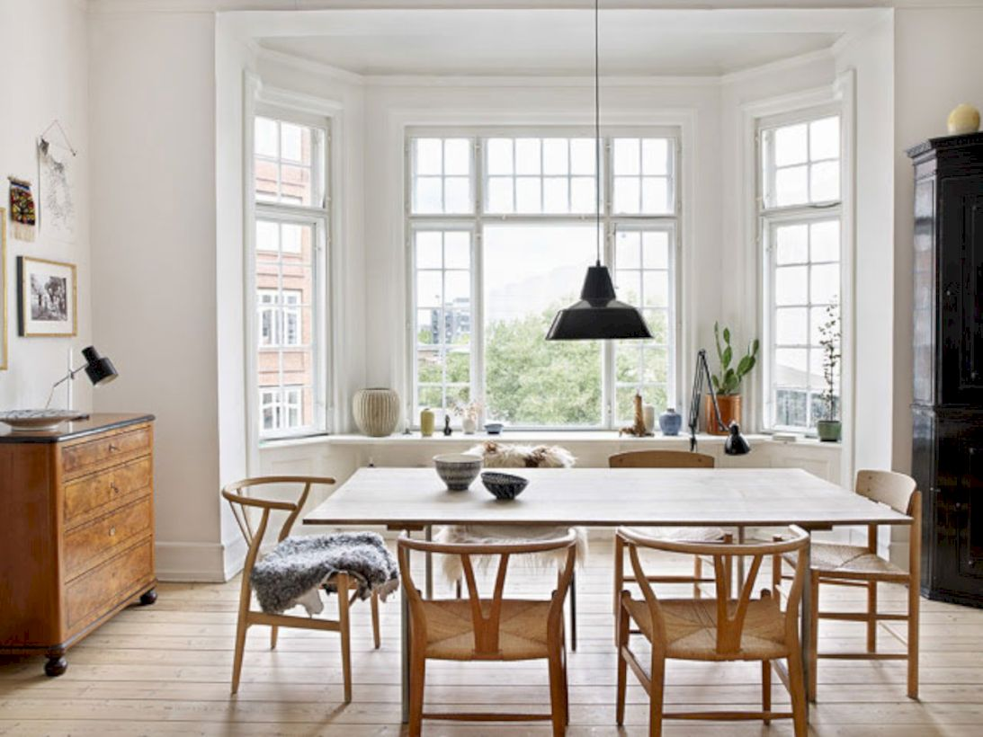Awesome scandinavian dining room images Scandinavian style dining room