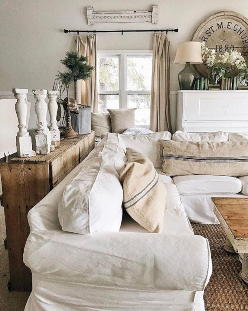 Rustic Living Room Curtains Design Ideas (50)