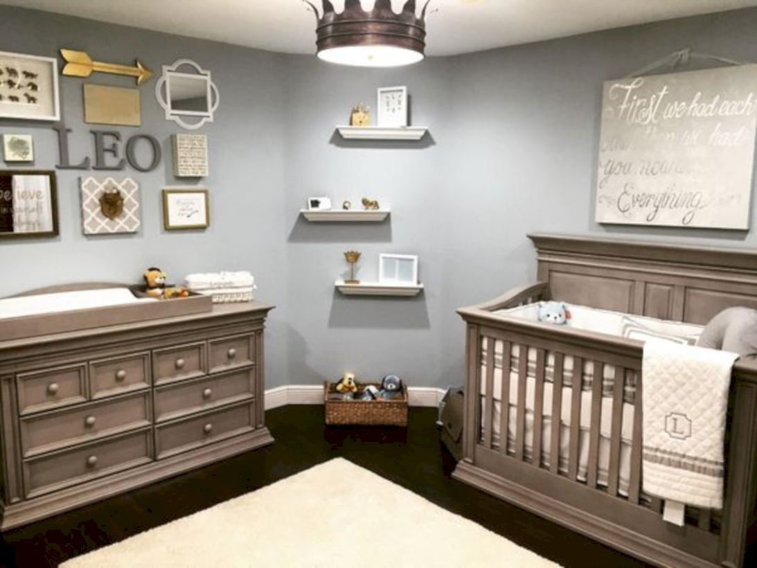 69 simple baby boy nursery room design ideas round decor for Simple nursery design