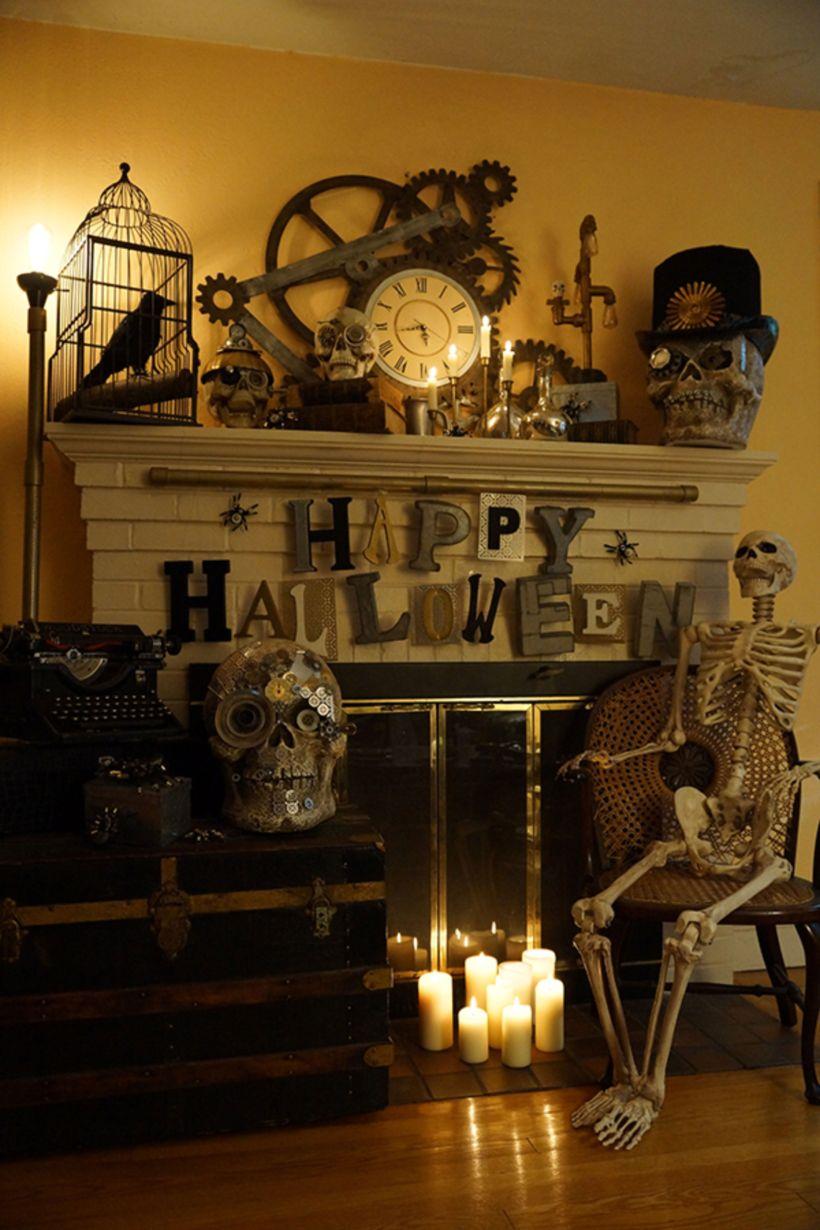 Awesome Halloween Indoor Decoration Ideas 25 25 Roundecor