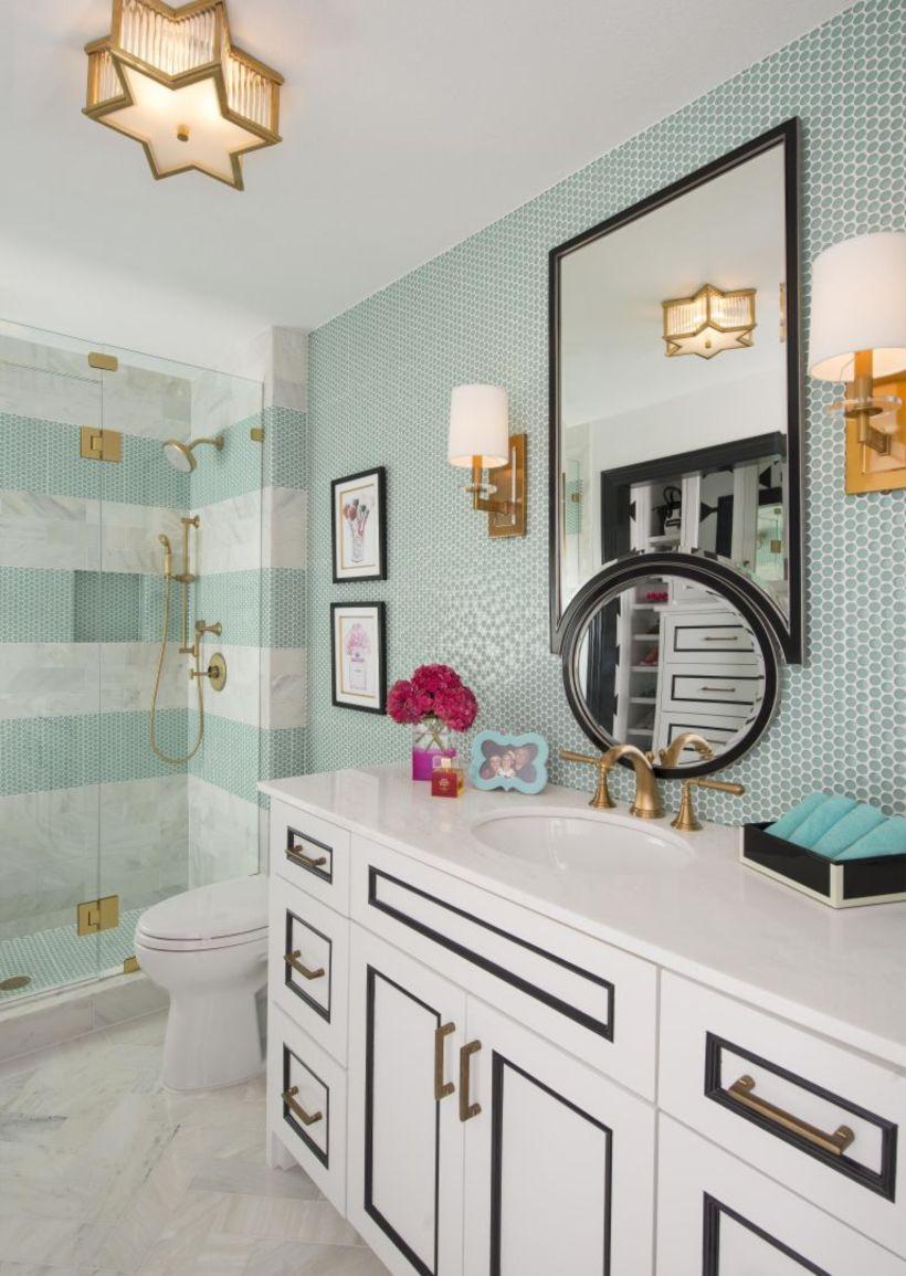 Bathroom decoration ideas for teen girls (24) - Round Decor