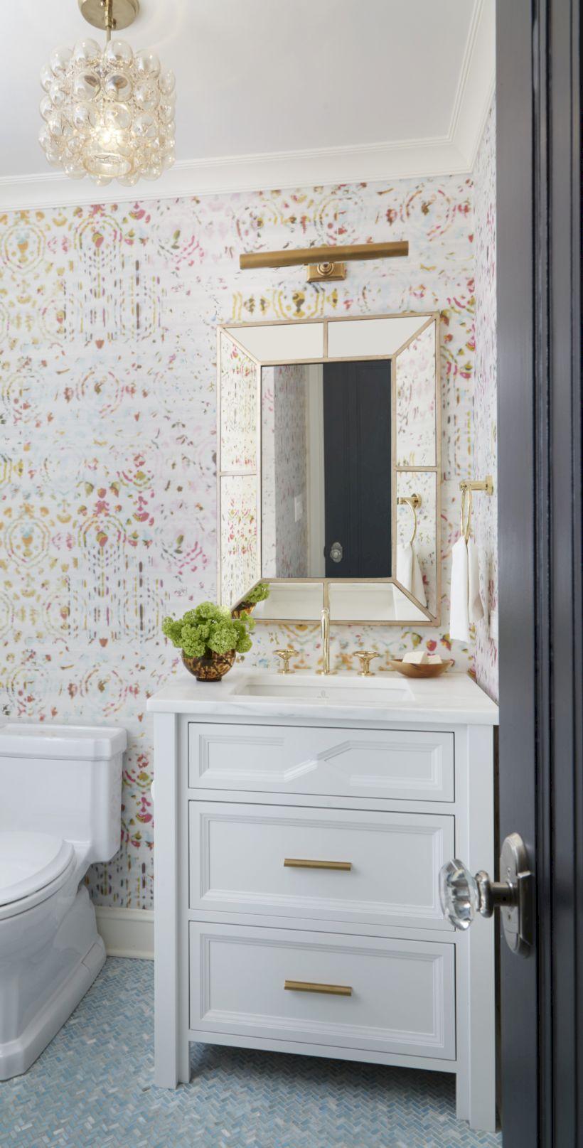 Bathroom decoration ideas for teen girls (51) - Round Decor