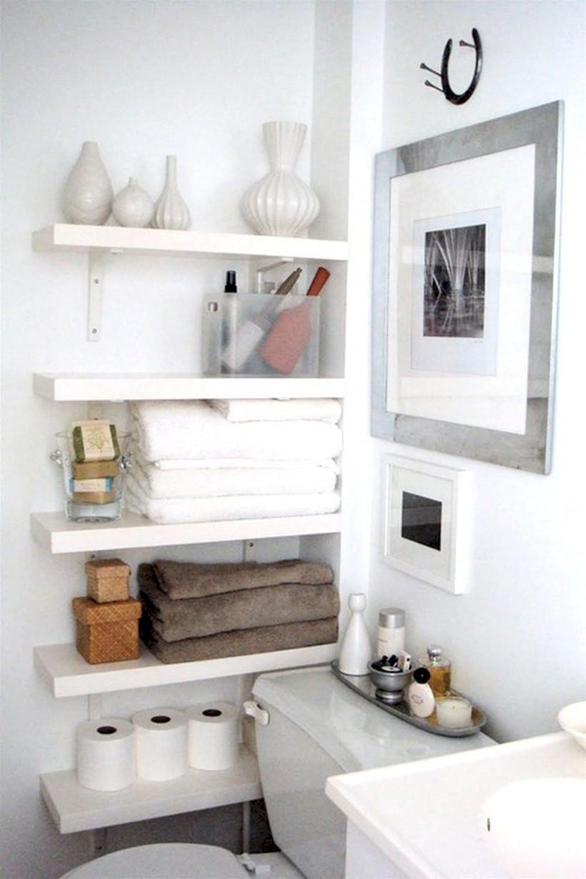 Cool organizing storage bathroom ideas (14) - Round Decor