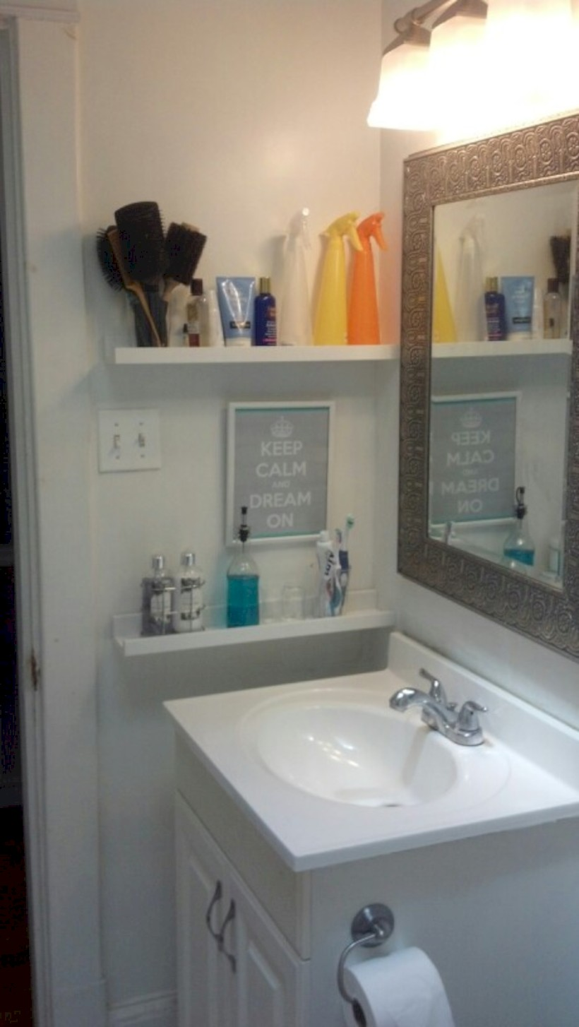 Creative storage bathroom ideas for space saving 6 for Space saving bathroom designs