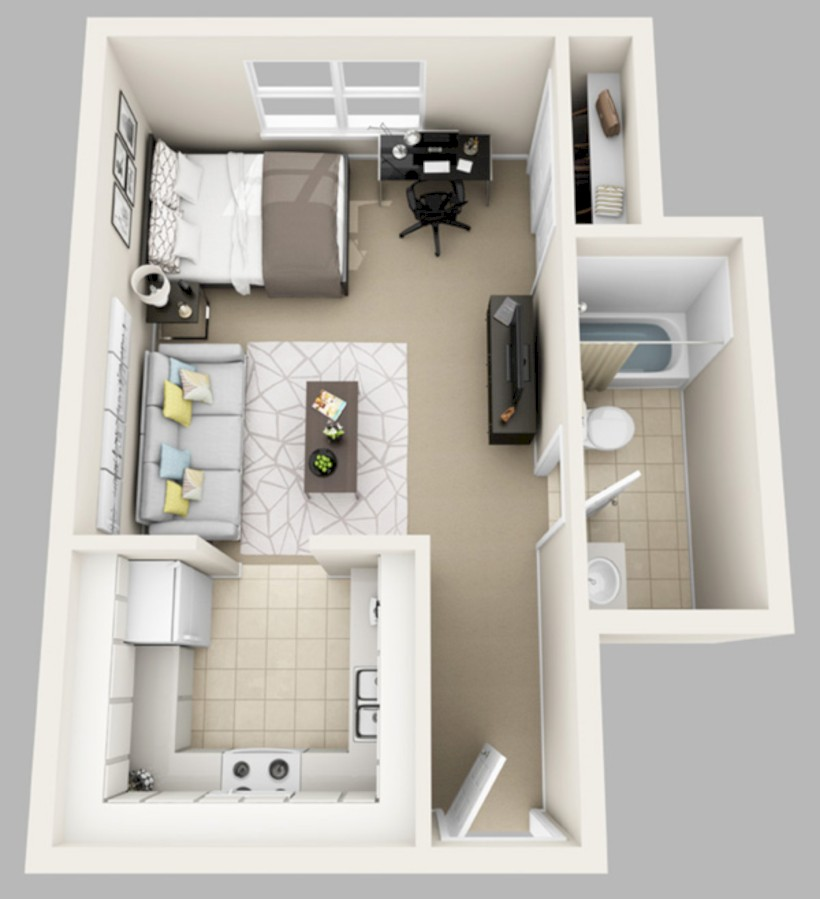 Creative Two Bedroom Apartment Plans Ideas 40 Round Decor Simple Two Bedroom Apartment Plan Creative