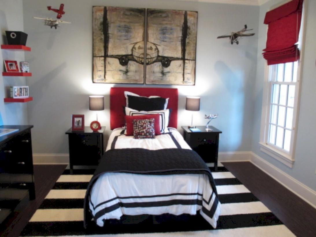 Inspiring bedroom design for boys 56