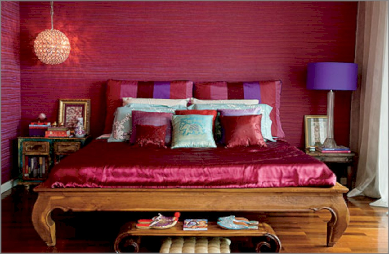 Moroccan themed bedroom design ideas 40 - Round Decor