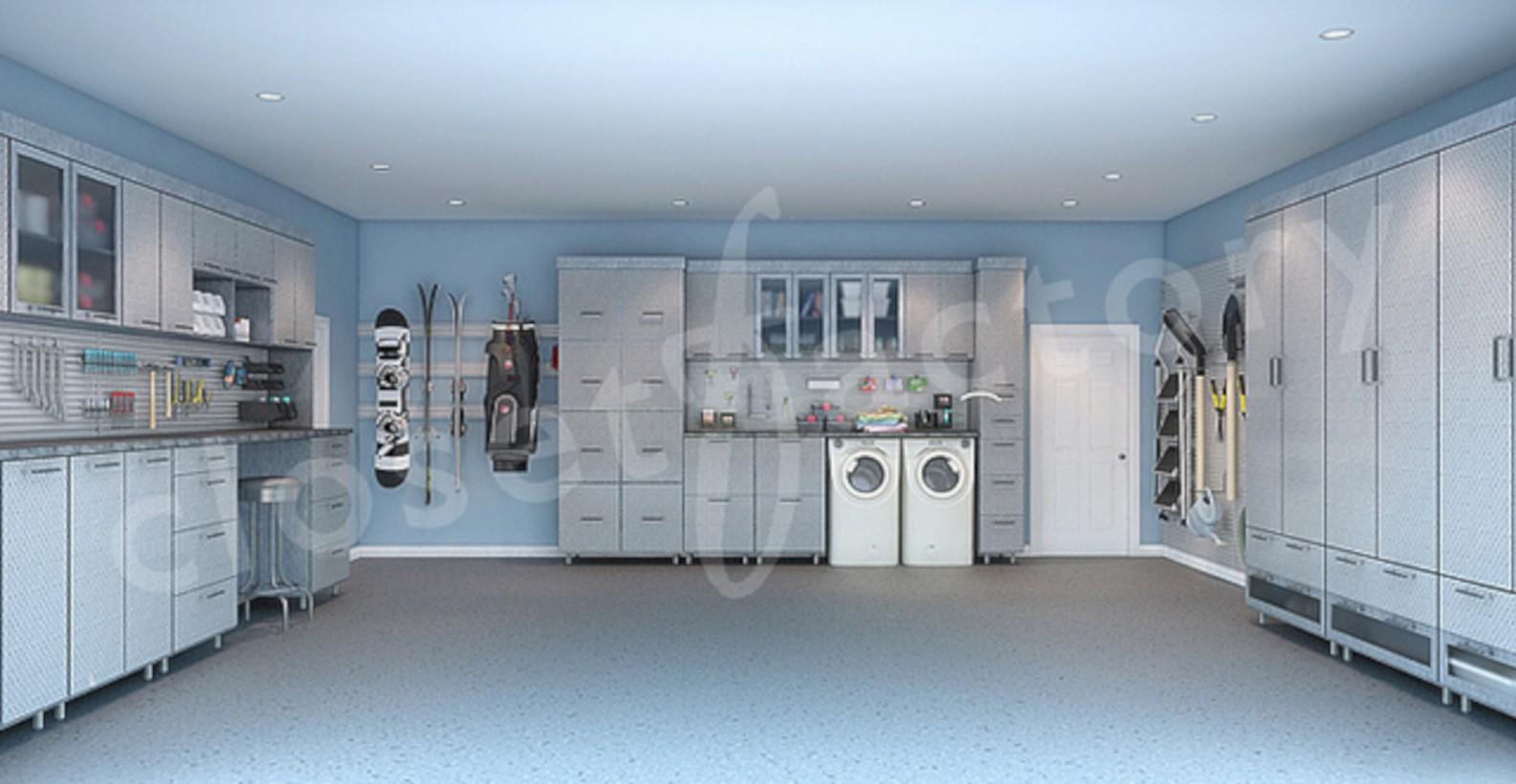 Neat and well-organized garage home decor ideas (1) - Round Decor