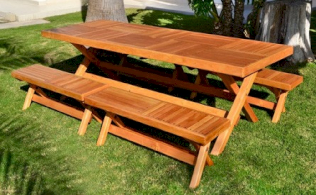 52 rectangular folding outdoor dining tables design ideas for Outdoor table design ideas