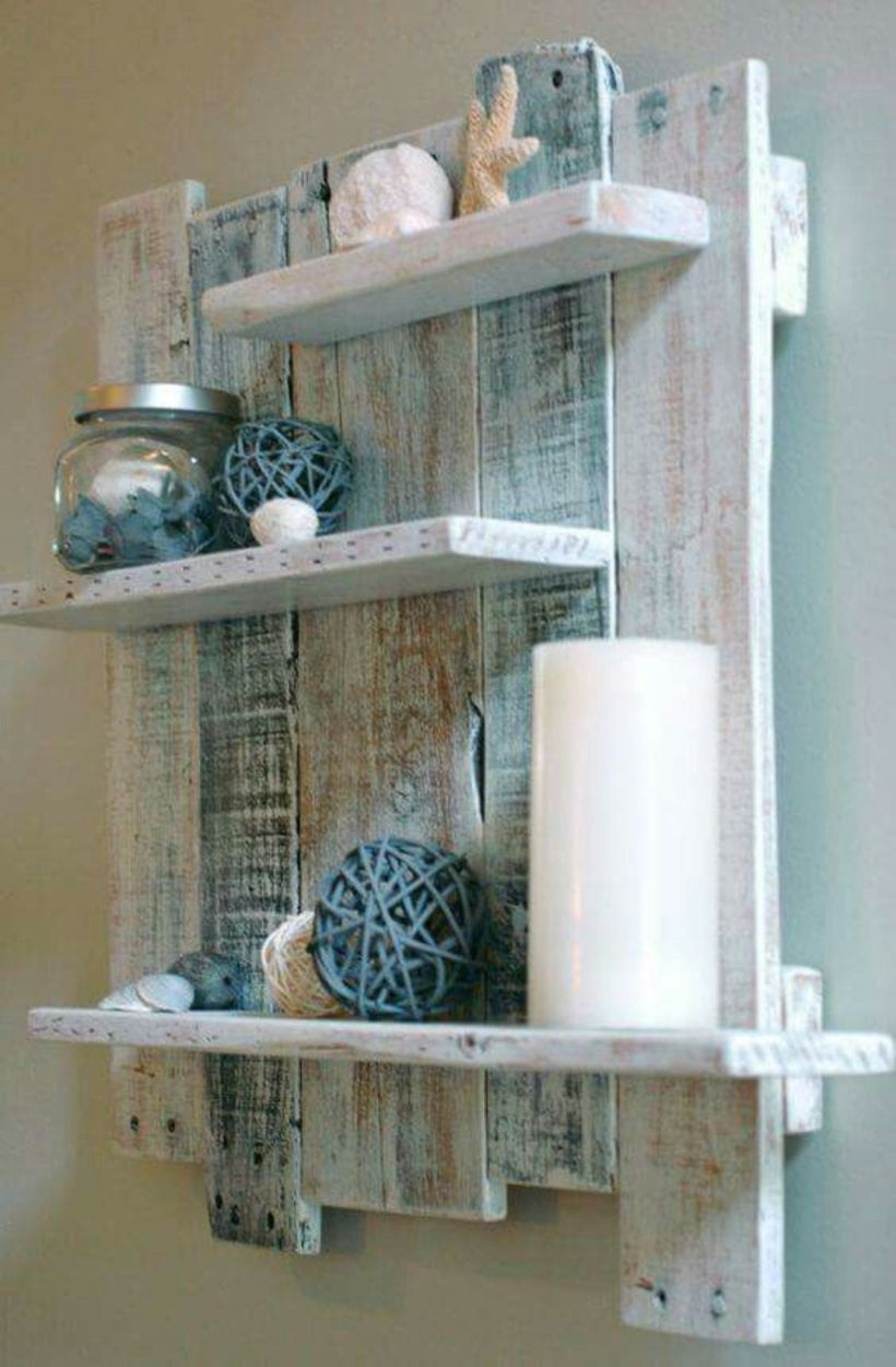 Decorative Rustic Storage Projects For Your Bathroom: Rustic Diy Bathroom Storage Ideas (11)