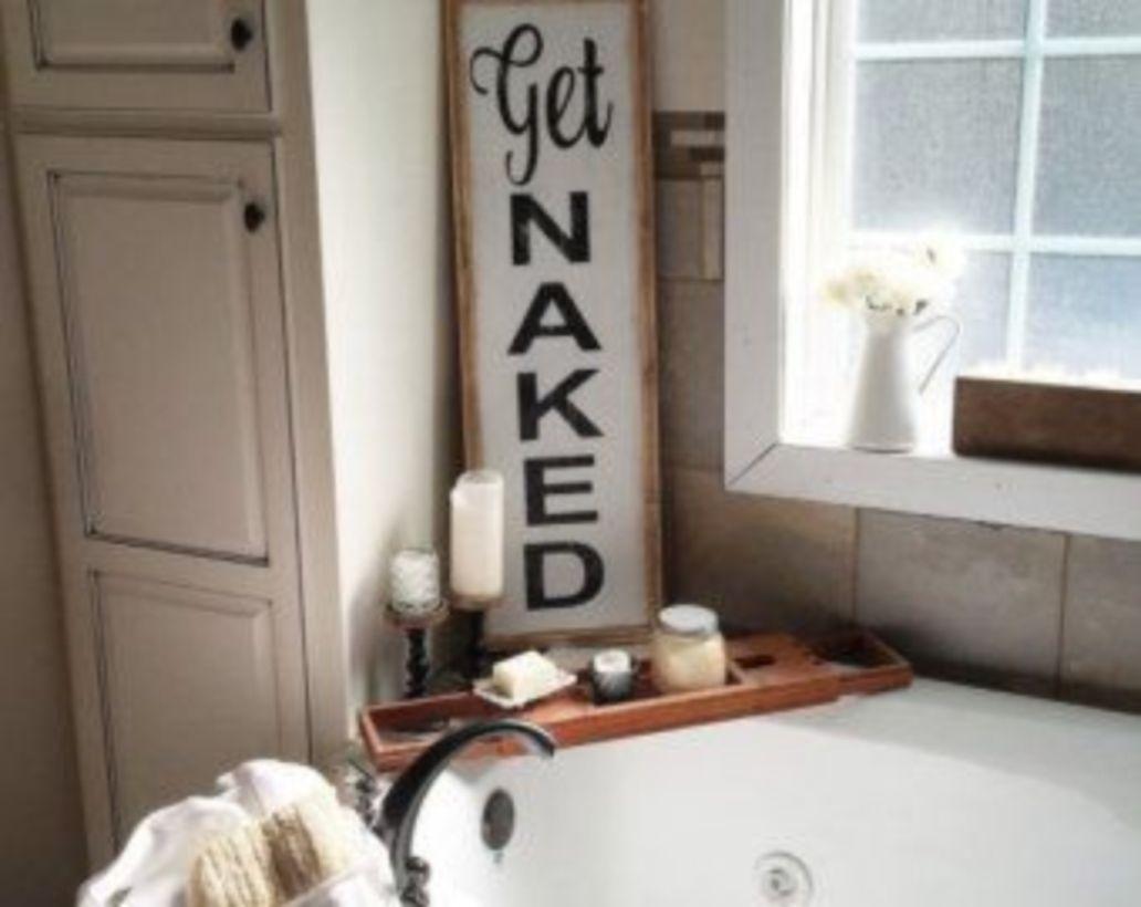 Rustic diy bathroom storage ideas (47)