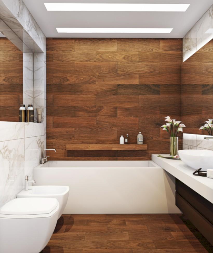 Simple bathroom ideas for small apartment 25 & 53 Simple Bathroom Ideas for Small Apartment - Round Decor