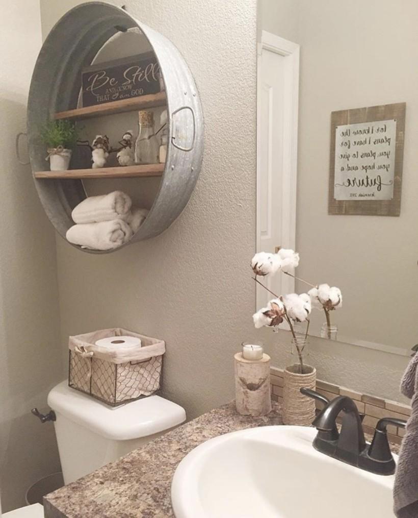 Small Country Bathroom Designs Ideas (10)