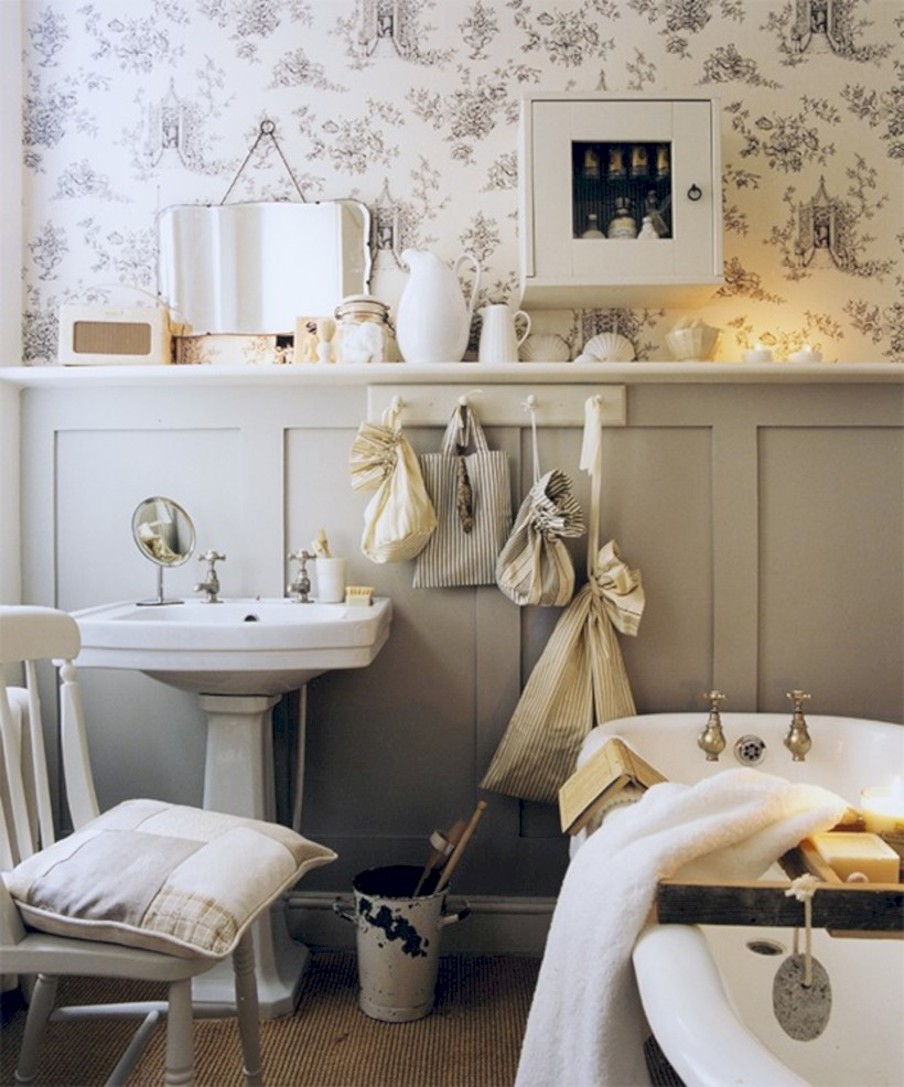 54 small country bathroom designs ideas round decor Tiny bathroom designs uk