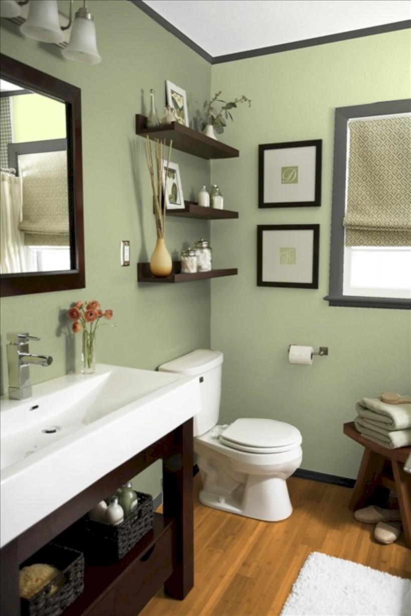 Vintage Paint Colors Bathroom Ideas 19 Roundecor